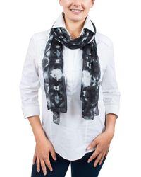 Emanuel Ungaro - Un7018 S7789 Tie Dye Print Smoke Silk Scarf - Lyst