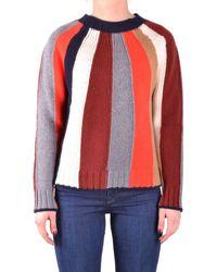Jucca - Women's Multicolor Wool Sweater - Lyst