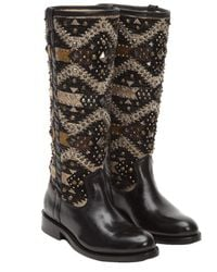 Frye | Women's Jayden Navaho Leather Tall Boot | Lyst