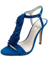 BCBGMAXAZRIA - Eneration Womens Clue Leather Open Toe Special Occasion T-strap Sandals - Lyst