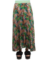Replay - Women's Multicolor Polyester Skirt - Lyst
