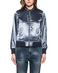 COLMAR ORIGINALS - Women's Blue Polyamide Outerwear Jacket - Lyst