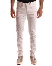 Siviglia | Men's White Cotton Trousers | Lyst