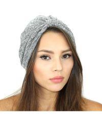 Kristin Perry - Rib Knit Sweater Turban - Lyst