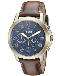 Fossil | Men's Casual Watch | Lyst