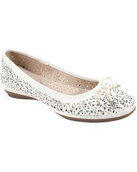White Mountain Footwear - Women's Myriam Ballet Flat - Lyst