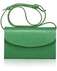 Joanna Maxham - The Runthrough Mini Bag In Jade Nappa Leather (nkl) - Lyst
