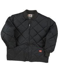 Dickies - Men's Diamond Quilted Nylon Jacket - Lyst