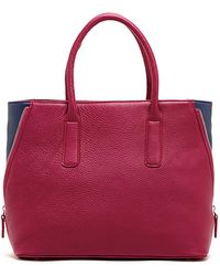 Susu - Allen Two Tone Leather Tote - Lyst