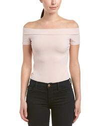 BCBGeneration - Off-the-shoulder Bodysuit - Lyst
