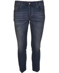 Entre Amis - Men's Blue Cotton Jeans - Lyst