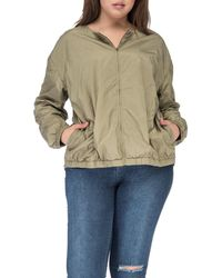 Bobeau - Plus Size Bryce Nylon Jacket - Lyst