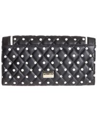 Boutique Moschino - Women's Black Leather Wallet - Lyst