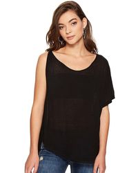 Free People - Pluto One Shoulder T-shirt - Lyst