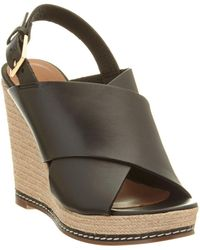 Andre Assous | Cora Leather Wedge Sandal | Lyst