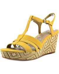 Giani Bernini - Womens Sadiee Open Toe Casual T-strap Sandals - Lyst