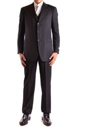 Armani - Men's Mcbi024046o Black Wool Suit - Lyst