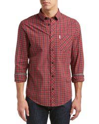 Ben Sherman - Mod Fit Woven Shirt - Lyst