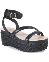 Avec Les Filles - Ava Leather Platform Sandal - Lyst
