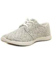 G.H. Bass & Co. - Gh Bass & Co Shelby Women Round Toe Synthetic White Fashion Trainers - Lyst