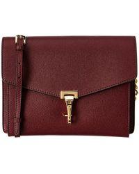 Burberry - Small Leather Crossbody Bag - Lyst