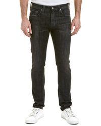 AG Jeans - The Stockton 5 Years Obsidian Skinny Leg - Lyst
