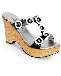 Dezario - Bouquet Slide Sandal Shoe - Lyst