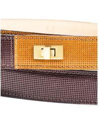 Lela Rose - 11 Nwt Brown Camel Gold Tone Hardware Double Wrap Belt Sz M - Lyst