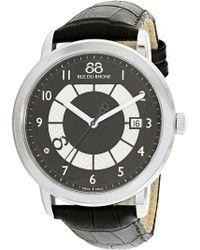 88 Rue Du Rhone - Men's Double 8 Origin 87wa130019 Black Stainless-steel Swiss Quartz Dress Watch - Lyst
