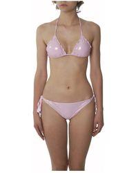 Dondup - Women's Pink Polyamide Bikini - Lyst