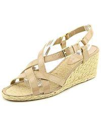 Ralph Lauren - Lauren Women Chrissy Wedge Sandals - Lyst