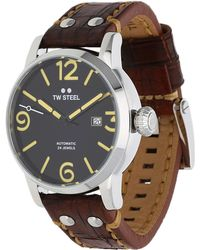 TW Steel - Watch Maverick Automatik Dark Brown Ms5 - Lyst