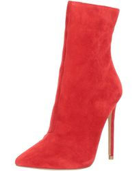 Steve Madden - Womens Wagner Leather Pointed Toe Ankle Fashion Boots - Lyst