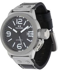 TW Steel - Watch Canteen Automatic Black Cs5 - Lyst