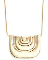 Trina Turk - Metal Multi U Necklace - Lyst