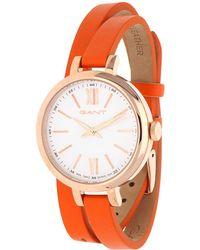 GANT - Watch Elizabeth Orange W71401 - Lyst