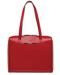Lodis - Women's Audrey Rfid Zip Top Tote With Organization - Lyst