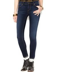 Free People - Roller Crop Mid Rise Skinny Jeans - Lyst