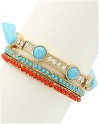 Sparkling Sage - 14k Plated Bracelet - Lyst