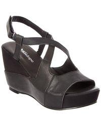 Antelope - 884 Leather Wedge Sandal - Lyst