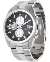 Kenneth Cole - Watch Chronograph Silver Kc9361 - Lyst