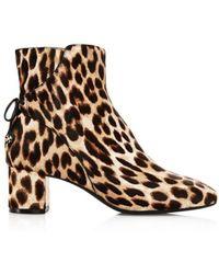 Tory Burch - Womens 42164 Calf Hair Closed Toe Ankle Fashion Boots - Lyst
