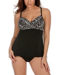 Miraclesuit - Between The Pleats Camino Tankini Top - Lyst