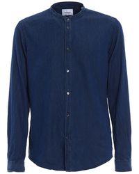 Dondup - Men's Blue Cotton Shirt - Lyst