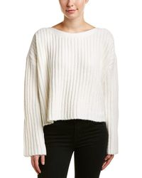 French Connection | Riva Cropped Wool-blend Sweater | Lyst