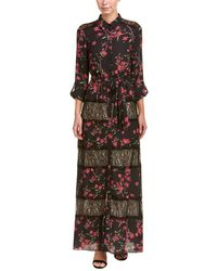 Alice + Olivia - Alice + Olivia Sina Maxi Dress - Lyst