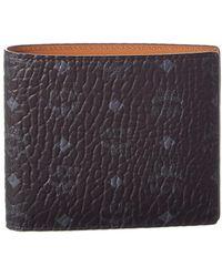 MCM | Claus Visetos Canvas Bifold Wallet | Lyst