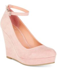 Material Girl - Vivie Wedge Pumps Shoes - Lyst