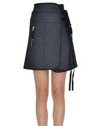 Diesel Black Gold - Women's Mcglgnn000004018i Black Polyamide Skirt - Lyst