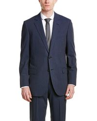 Brooks Brothers - Wool-blend Suit With Flat Front Pant - Lyst